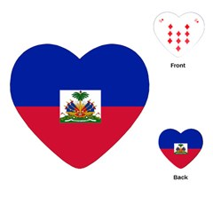 Flag of Haiti  Playing Cards (Heart)