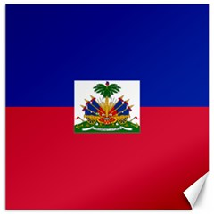 Flag of Haiti  Canvas 20  x 20