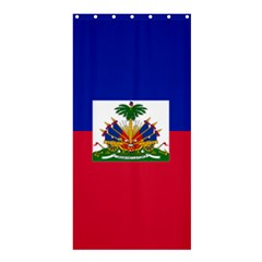 Flag of Haiti  Shower Curtain 36  x 72  (Stall)