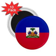 Flag of Haiti 2.25  Magnets (10 pack)
