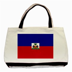 Flag Of Haiti Basic Tote Bag (two Sides)