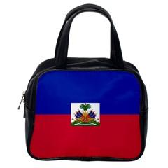 Flag of Haiti Classic Handbags (One Side)
