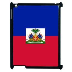 Flag of Haiti Apple iPad 2 Case (Black)