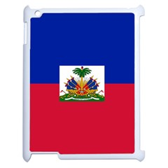 Flag of Haiti Apple iPad 2 Case (White)
