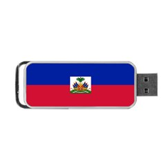 Flag of Haiti Portable USB Flash (One Side)