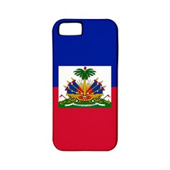 Flag of Haiti Apple iPhone 5 Classic Hardshell Case (PC+Silicone)
