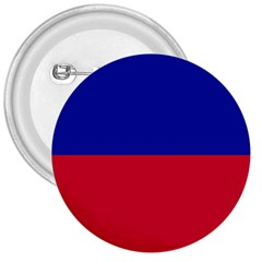 Civil Flag of Haiti (Without Coat of Arms) 3  Buttons