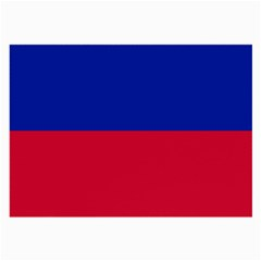 Civil Flag of Haiti (Without Coat of Arms) Large Glasses Cloth