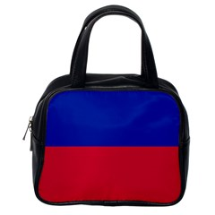 Civil Flag of Haiti (Without Coat of Arms) Classic Handbags (One Side)