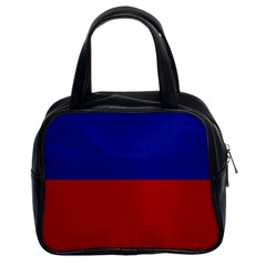 Civil Flag of Haiti (Without Coat of Arms) Classic Handbags (2 Sides)