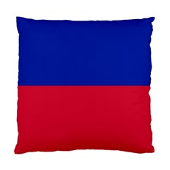 Civil Flag of Haiti (Without Coat of Arms) Standard Cushion Case (One Side)