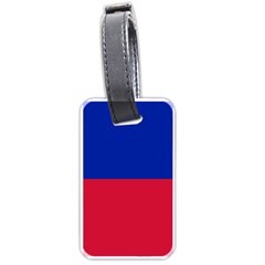 Civil Flag of Haiti (Without Coat of Arms) Luggage Tags (Two Sides)