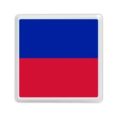 Civil Flag of Haiti (Without Coat of Arms) Memory Card Reader (Square)