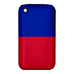 Civil Flag of Haiti (Without Coat of Arms) iPhone 3S/3GS