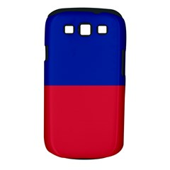 Civil Flag of Haiti (Without Coat of Arms) Samsung Galaxy S III Classic Hardshell Case (PC+Silicone)