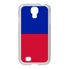 Civil Flag of Haiti (Without Coat of Arms) Samsung GALAXY S4 I9500/ I9505 Case (White)