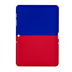 Civil Flag of Haiti (Without Coat of Arms) Samsung Galaxy Tab 2 (10.1 ) P5100 Hardshell Case