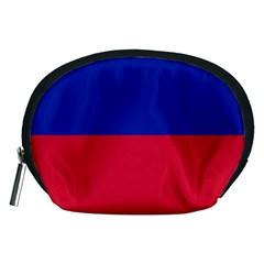 Civil Flag of Haiti (Without Coat of Arms) Accessory Pouches (Medium)