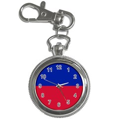 Civil Flag of Haiti (Without Coat of Arms) Key Chain Watches