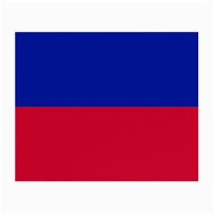 Civil Flag of Haiti (Without Coat of Arms) Small Glasses Cloth