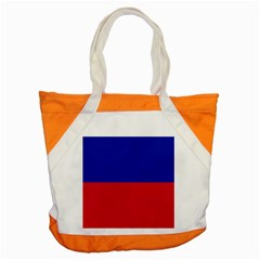 Civil Flag of Haiti (Without Coat of Arms) Accent Tote Bag