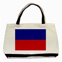 Civil Flag of Haiti (Without Coat of Arms) Basic Tote Bag (Two Sides)