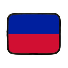 Civil Flag of Haiti (Without Coat of Arms) Netbook Case (Small)