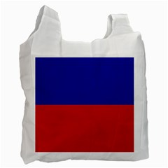 Civil Flag of Haiti (Without Coat of Arms) Recycle Bag (Two Side)