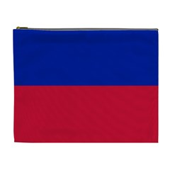 Civil Flag of Haiti (Without Coat of Arms) Cosmetic Bag (XL)