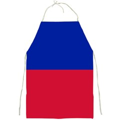 Civil Flag of Haiti (Without Coat of Arms) Full Print Aprons