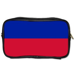 Civil Flag of Haiti (Without Coat of Arms) Toiletries Bags 2-Side