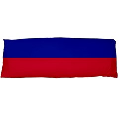 Civil Flag of Haiti (Without Coat of Arms) Body Pillow Case (Dakimakura)
