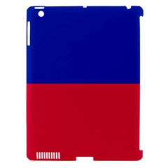 Civil Flag of Haiti (Without Coat of Arms) Apple iPad 3/4 Hardshell Case (Compatible with Smart Cover)