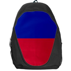 Civil Flag of Haiti (Without Coat of Arms) Backpack Bag