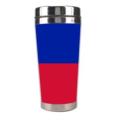 Civil Flag of Haiti (Without Coat of Arms) Stainless Steel Travel Tumblers