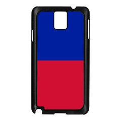 Civil Flag of Haiti (Without Coat of Arms) Samsung Galaxy Note 3 N9005 Case (Black)