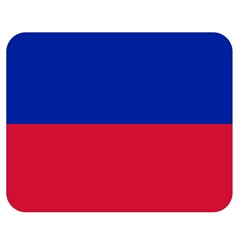 Civil Flag of Haiti (Without Coat of Arms) Double Sided Flano Blanket (Medium)