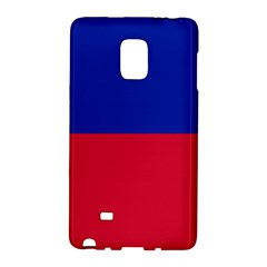Civil Flag of Haiti (Without Coat of Arms) Galaxy Note Edge