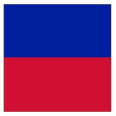 Civil Flag of Haiti (Without Coat of Arms) Large Satin Scarf (Square)