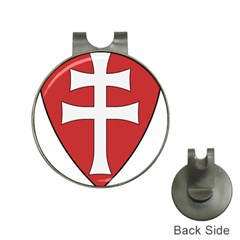 Coat of Arms of Apostolic Kingdom of Hungary, 1172-1196 Hat Clips with Golf Markers
