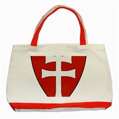 Coat of Arms of Apostolic Kingdom of Hungary, 1172-1196 Classic Tote Bag (Red)