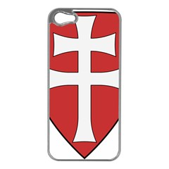 Coat of Arms of Apostolic Kingdom of Hungary, 1172-1196 Apple iPhone 5 Case (Silver)