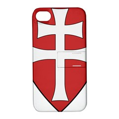 Coat of Arms of Apostolic Kingdom of Hungary, 1172-1196 Apple iPhone 4/4S Hardshell Case with Stand