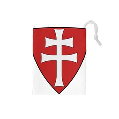 Coat of Arms of Apostolic Kingdom of Hungary, 1172-1196 Drawstring Pouches (Small)
