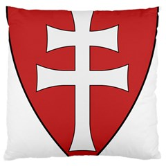 Coat of Arms of Apostolic Kingdom of Hungary, 1172-1196 Standard Flano Cushion Case (One Side)