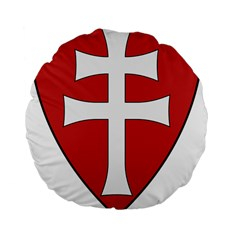Coat of Arms of Apostolic Kingdom of Hungary, 1172-1196 Standard 15  Premium Flano Round Cushions