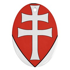 Coat of Arms of Apostolic Kingdom of Hungary, 1172-1196 Ornament (Oval)