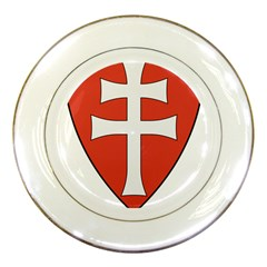 Coat of Arms of Apostolic Kingdom of Hungary, 1172-1196 Porcelain Plates
