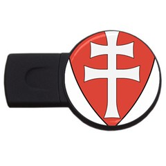 Coat of Arms of Apostolic Kingdom of Hungary, 1172-1196 USB Flash Drive Round (4 GB)