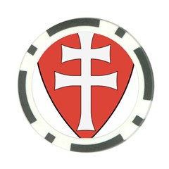 Coat Of Arms Of Apostolic Kingdom Of Hungary, 1172 1196 Poker Chip Card Guard